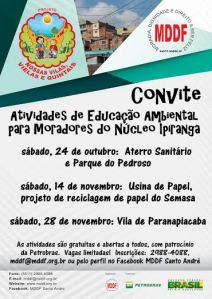 Convite Visitas Ipiranga