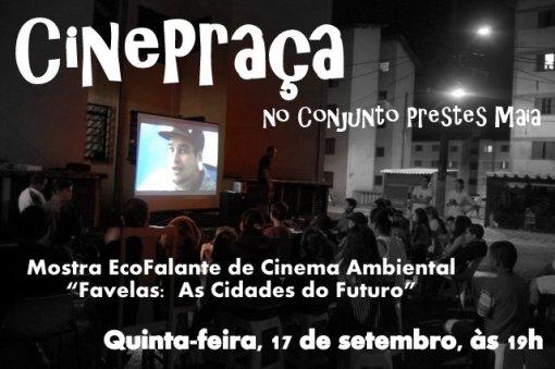 Noite de cinema - convite EcoFalante