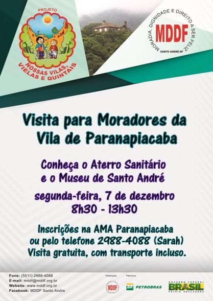 Convite Paranapiacaba MDDF